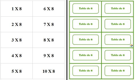 m 233 mory tables de multiplication document gratuit