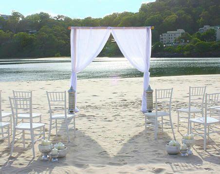 gold coast wedding wedding arbour wedding canopy