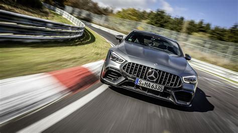 It is available in only one variant and 10 colours. 2021 Mercedes-AMG GT 63 S 4-Door Coupe made faster—Nürburgring proves it