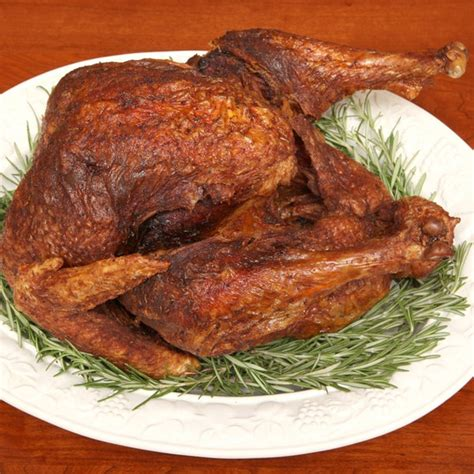 deep fried turkey  herbs recipe epicuriouscom