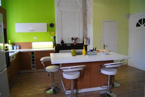 deco cuisine vert cuisine vert pomme photo 1 7 les chaises hautes viennent de cdiscount