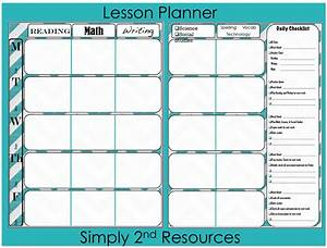 free weekly printable calendar for teachers new calendar With lausd lesson plan template