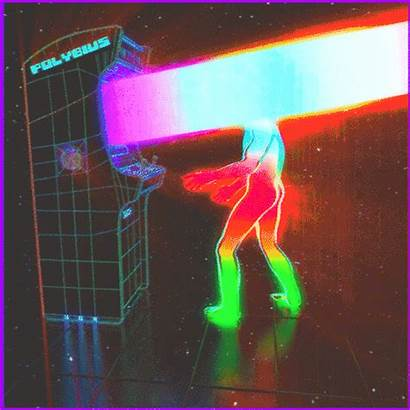 Retro Gifs Arcade Aesthetic Surreal Future Polybius