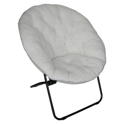 Sherpa Dish Chair Room Essentials by Xl Dish Chair Sherpa Ivory For The Home