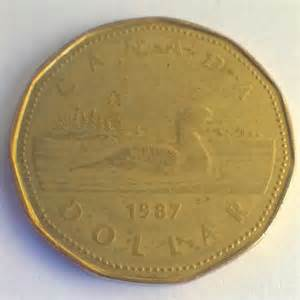 1987 Canadian Dollar Coin Value