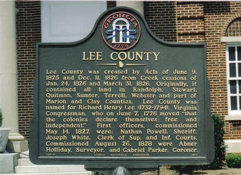 History | City of Leesburg, Georgia
