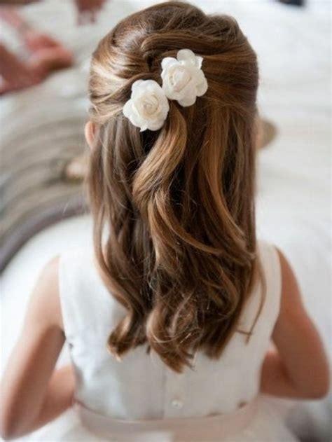 coiffure mariage fille cheveux mi coiffure fille 90 id 233 es pour votre princesse