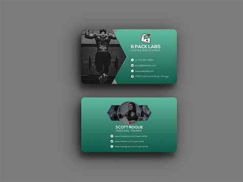 For a further look at the catalog check the online store located on the main page or copy/paste > www.zazzle.com/lovely_businesscards < thanks so much for all that you do and keep making a. 6 Pack abs Personal Trainer Business Card   TechMix