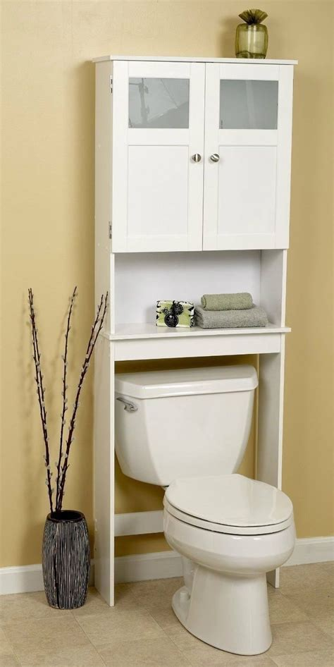 bathroom  toilet cabinet space saver storage unit