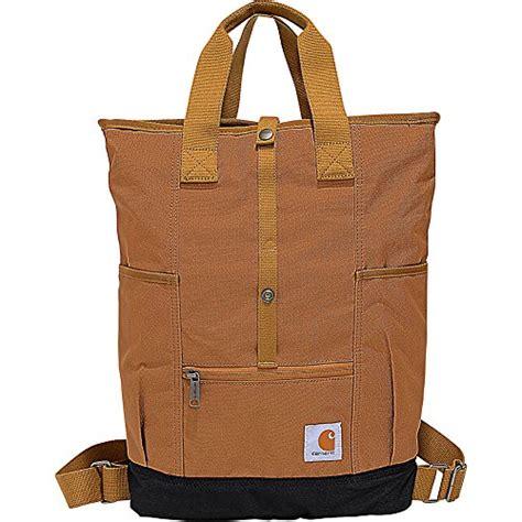 carhartt legacy womens hybrid convertible backpack tote bag black fashionablebackpackcom