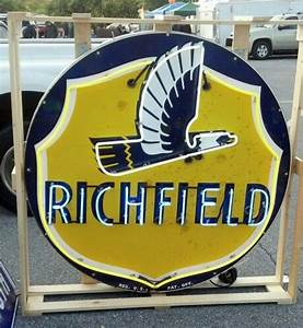 Gorgeous Richfield Gas Oil Neon Sign
