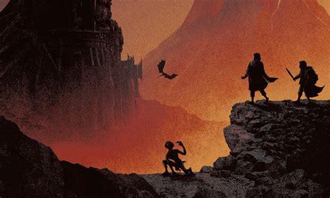 Lord Of The Rings Print Set From Matt Ferguson  Missed Prints