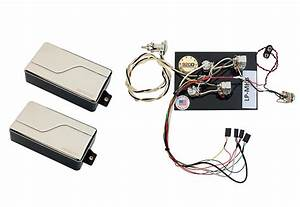 Fishman Fluence Modern Humbucker Pickup Set  Nickel