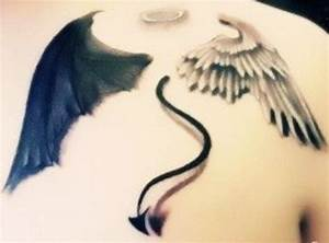 Wing Tattoo Shoulder Blades | www.imgkid.com - The Image ...