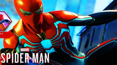 Spider-man's Suit Has Both Form And Function In Ps4 Exclusive
