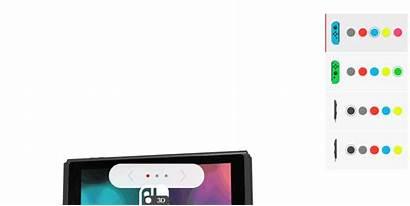Switch Nintendo Joy Viewer Colors Con 3d