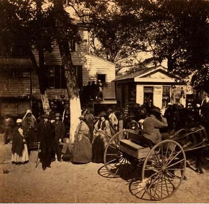 Civilians Civil Southern South Slaves During Beaufort