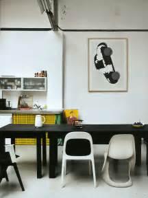 inspiring ways  hang art   kitchen design milk