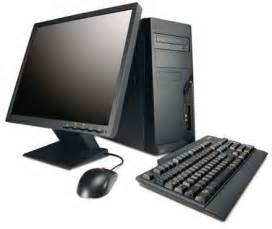 Black Desktop PC Computer