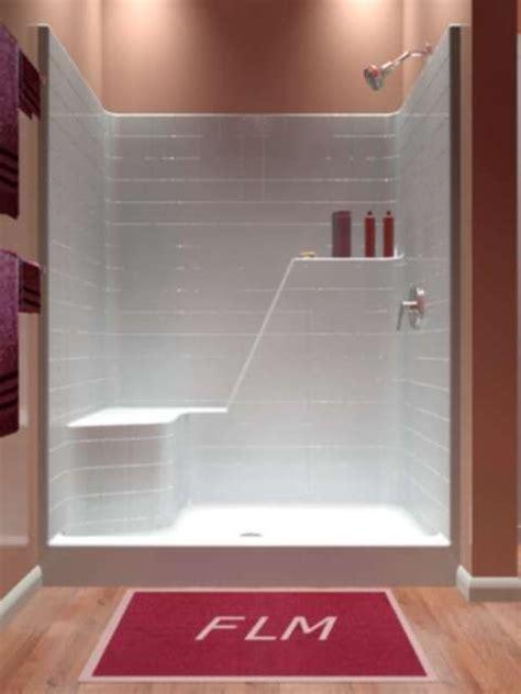 ideas   piece shower stall  pinterest transitional shower doors gray tile