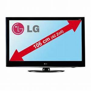 42zoll In Cm : lg electronic 107cm 42 zoll full hd lcd tv 42ld420 von marktkauf ansehen ~ Markanthonyermac.com Haus und Dekorationen