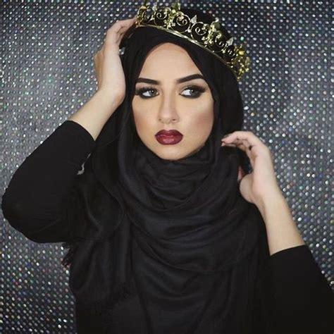 hijabi queen hijab fashion pinterest search makeup  fashion