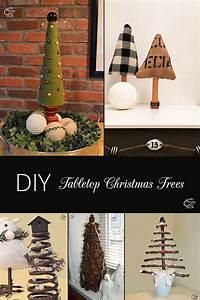 5, Diy, Tabletop, Christmas, Tree, Ideas