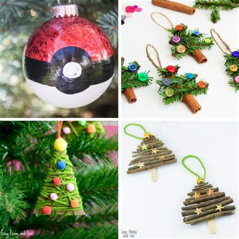 awesome christmas tree ornaments totally awesome kid made christmas ornaments