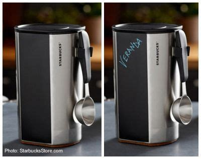 Starbucks Stainless Coffee Canister