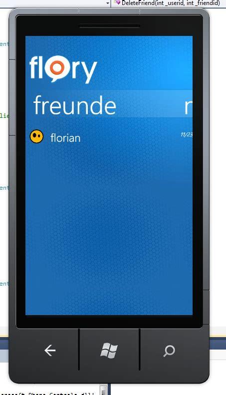 windows phone messenger flory windows phone 7 apps