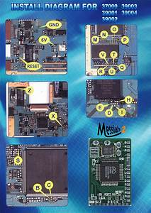 Pic Systems    Esquemas De Montaje Del Chip Messiah 2