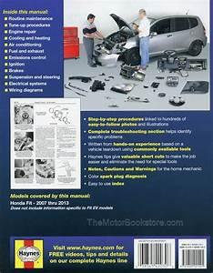 Honda Fit Repair Manual  2007