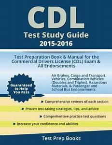 Cdl Test Study Guide 2015
