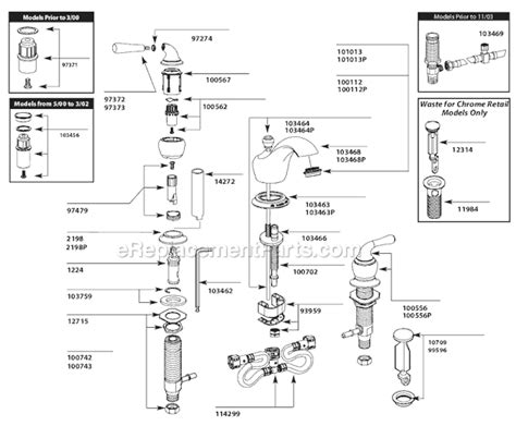 moen t4570cp parts list and diagram ereplacementparts com