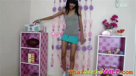 Petite Thai Girl Eaw Strips From Her Cute Teen Outfit Porn