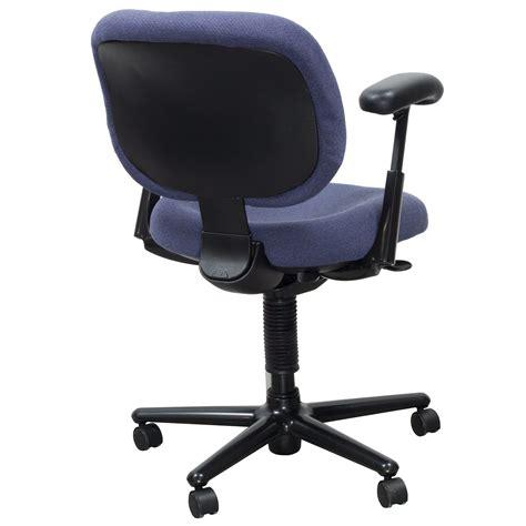 herman miller ergon used task chair blue purple
