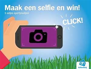 Maak een selfie en win!