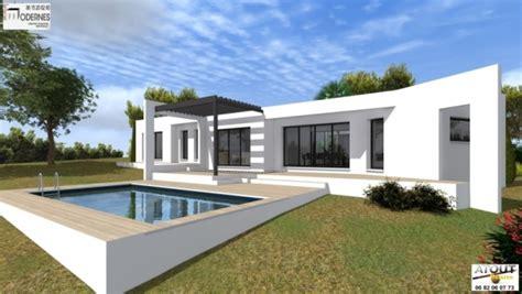 plan de cuisine en 3d gratuit maison contemporaine avec patio