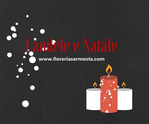 candele per natale candele e natale