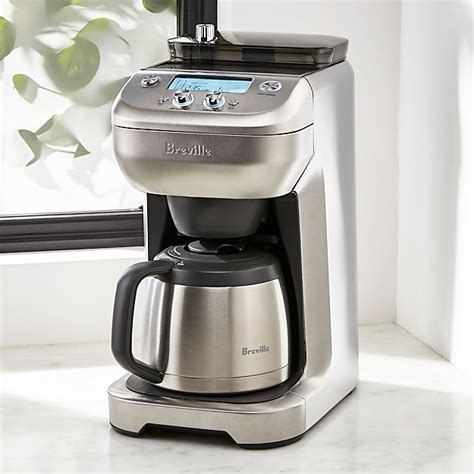 breville  cup grind control coffee maker reviews
