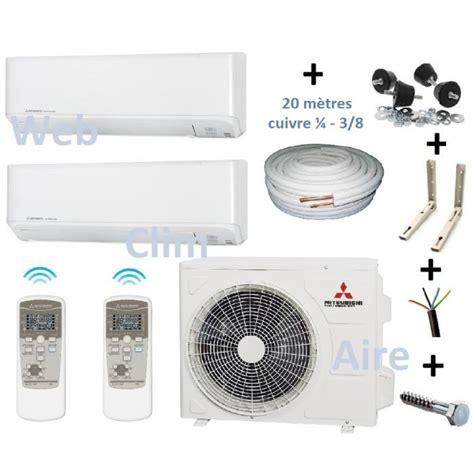 clim bi split climatiseur r 233 versible bi split 3 5 avec accessoire de
