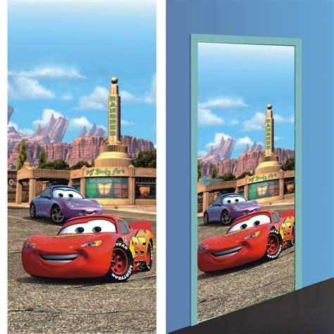 papier peint pour chambre bebe fille disney cars 2 décoration murale poster de porte
