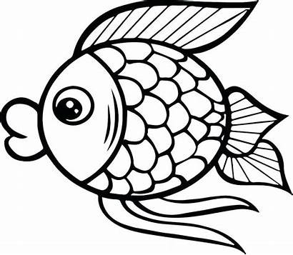 Fish Coloring Pages Pdf Printable Cartoon Getcolorings