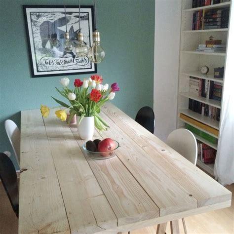 diy projekt ein tisch aus baudielen home