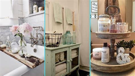 Rustic Chic Bathroom Ideas by Diy Rustic Shabby Chic Style Bathroom Decor Ideas Home
