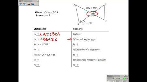 proving triangles congruent worksheet with answers