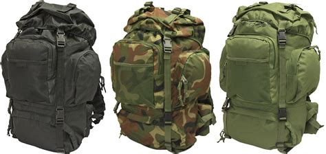 Deluxe 50l Army/military Forces Hiking Backpack/rucksack