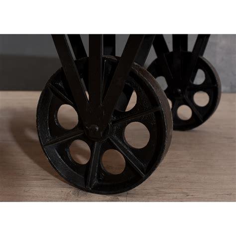 peinture pour canapé table basse industrielle grosses roulettes dpi import