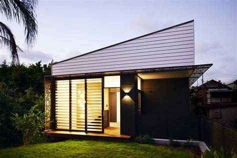 Design Small Home by Small 80 Sq M Infill Home Design In Brisbane Australia
