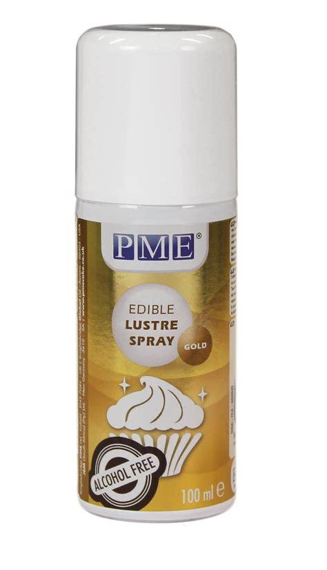 pme lustre spray paint edible  cake food fondant icing